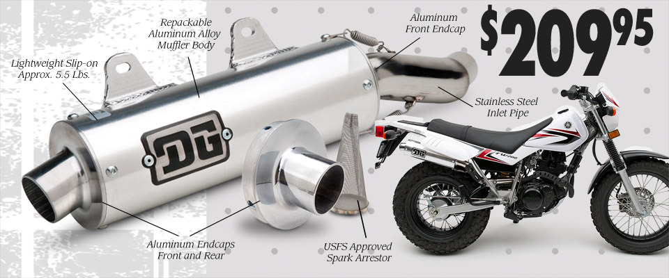 R-Series DG Performance Exhaust